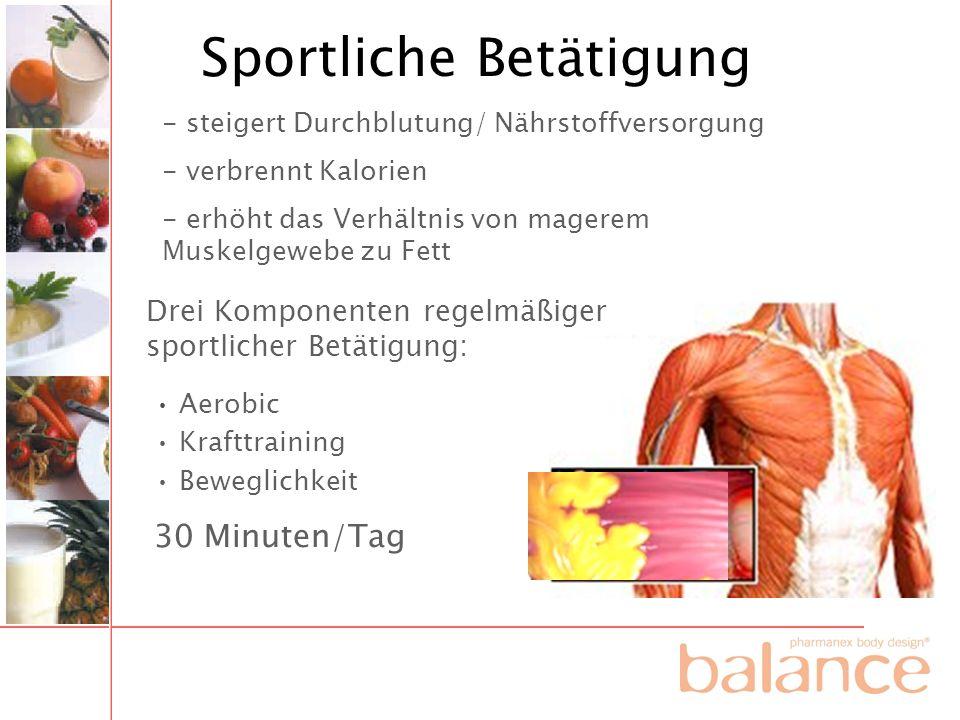 Sportliche Betätigung