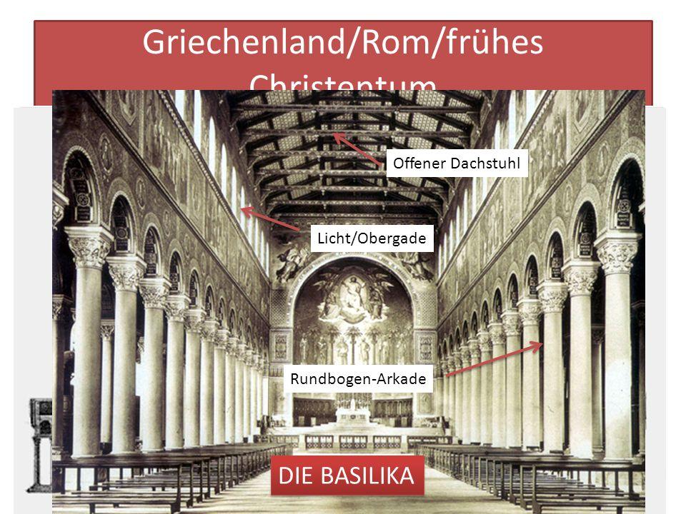 Griechenland/Rom/frühes Christentum