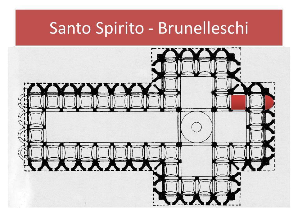 Santo Spirito - Brunelleschi