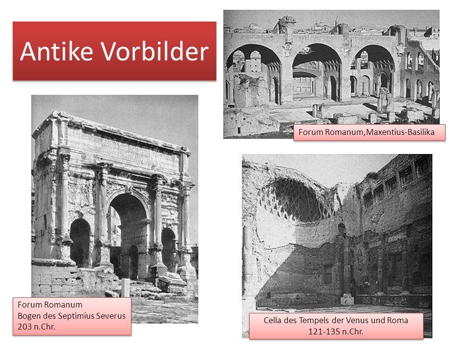 Cella des Tempels der Venus und Roma 121-135 n.Chr.