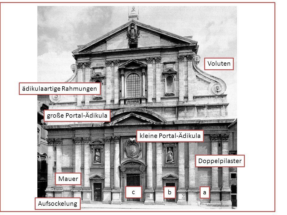 Die ausgeführte Fassade