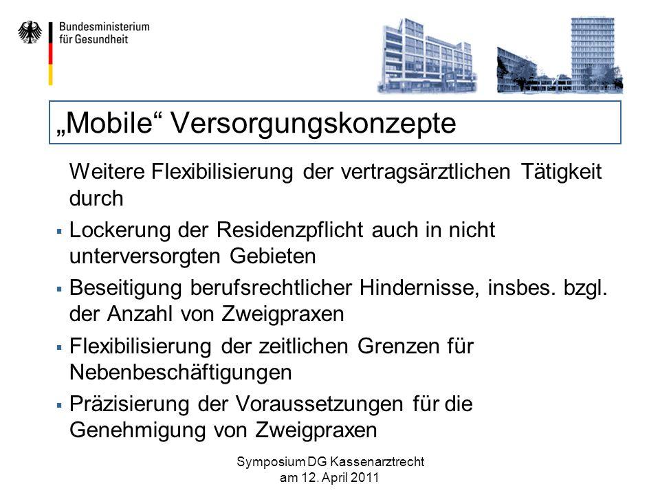 """""""Mobile Versorgungskonzepte"""