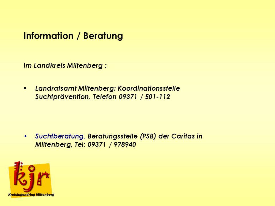 Information / Beratung
