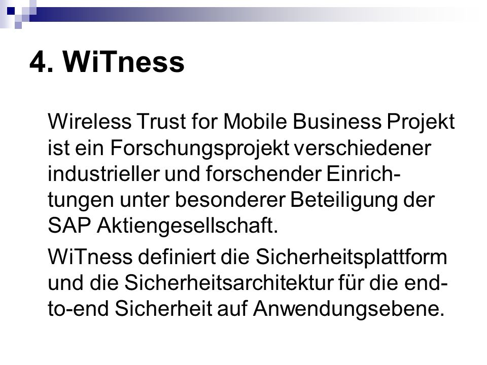 4. WiTness