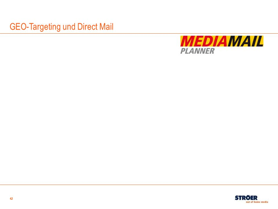 GEO-Targeting und Direct Mail