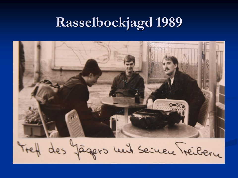 Rasselbockjagd 1989