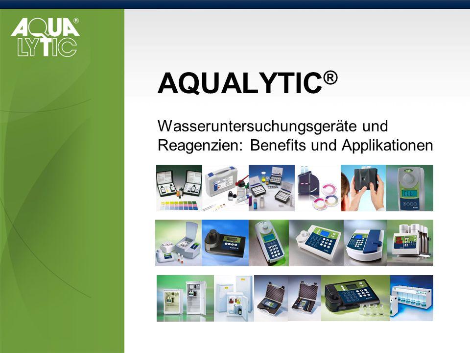 Wasseruntersuchungsgeräte und Reagenzien: Benefits und Applikationen