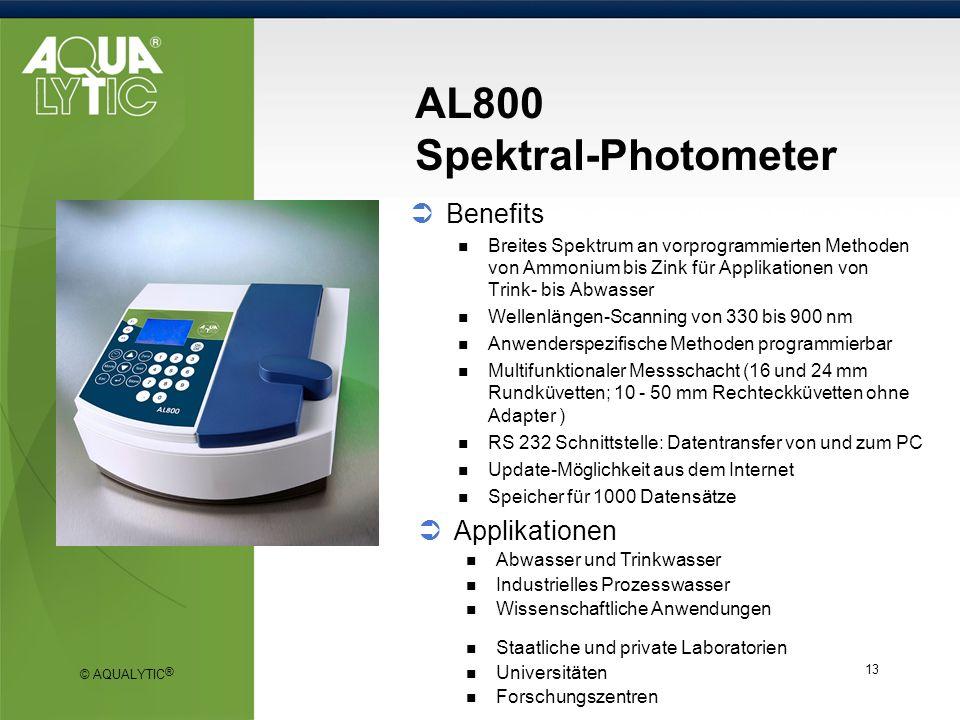 AL800 Spektral-Photometer