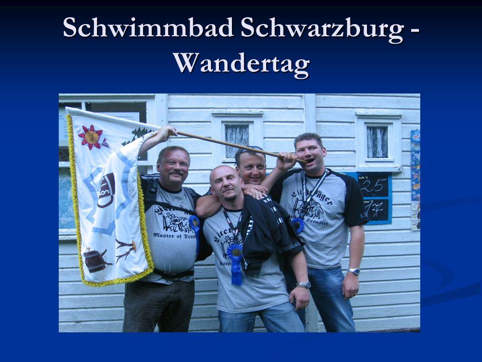 Schwimmbad Schwarzburg - Wandertag
