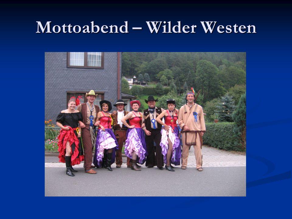 Mottoabend – Wilder Westen