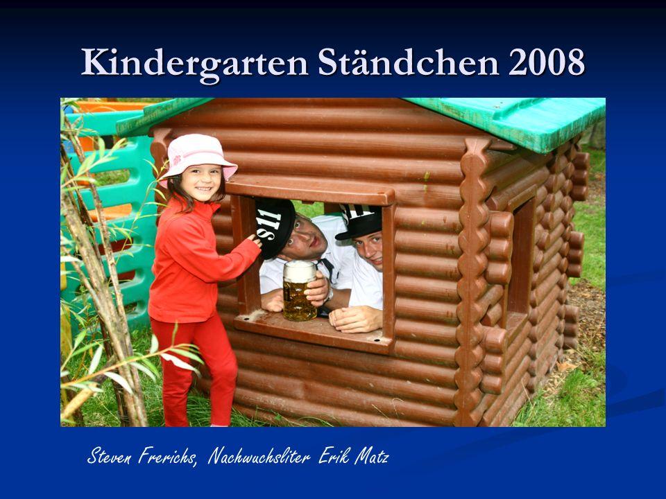 Kindergarten Ständchen 2008