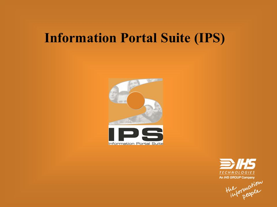 Information Portal Suite (IPS)