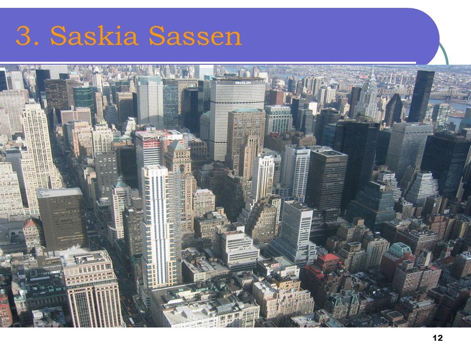 3. Saskia Sassen