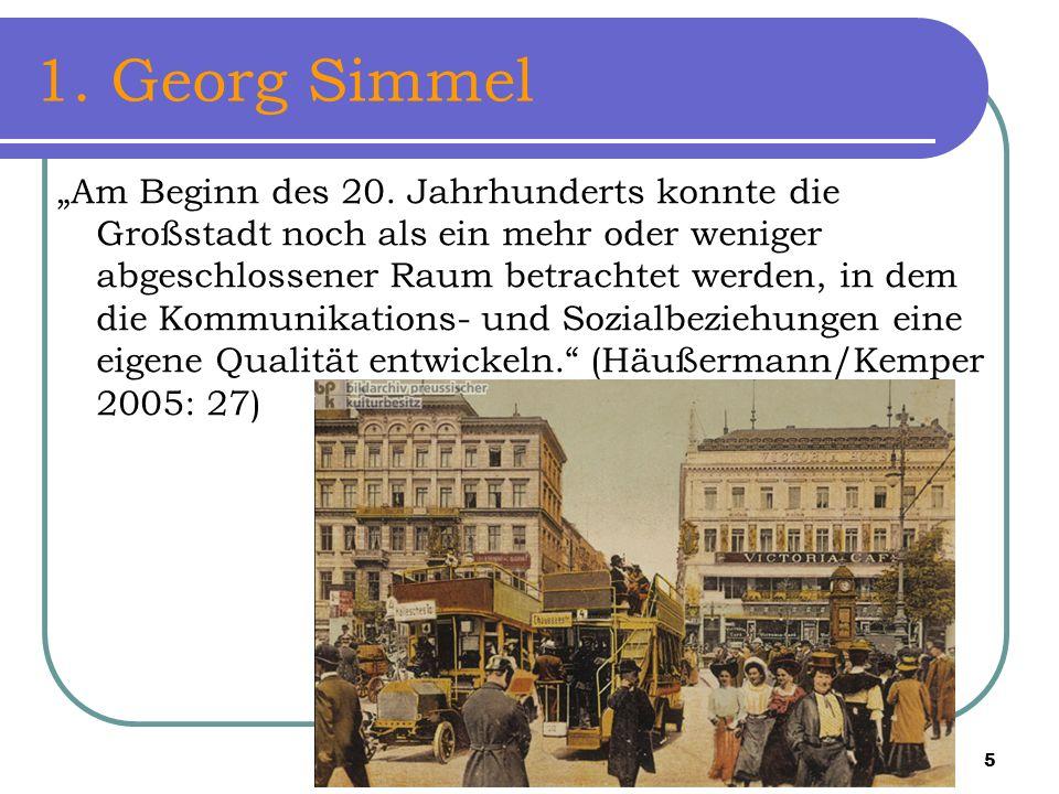 1. Georg Simmel