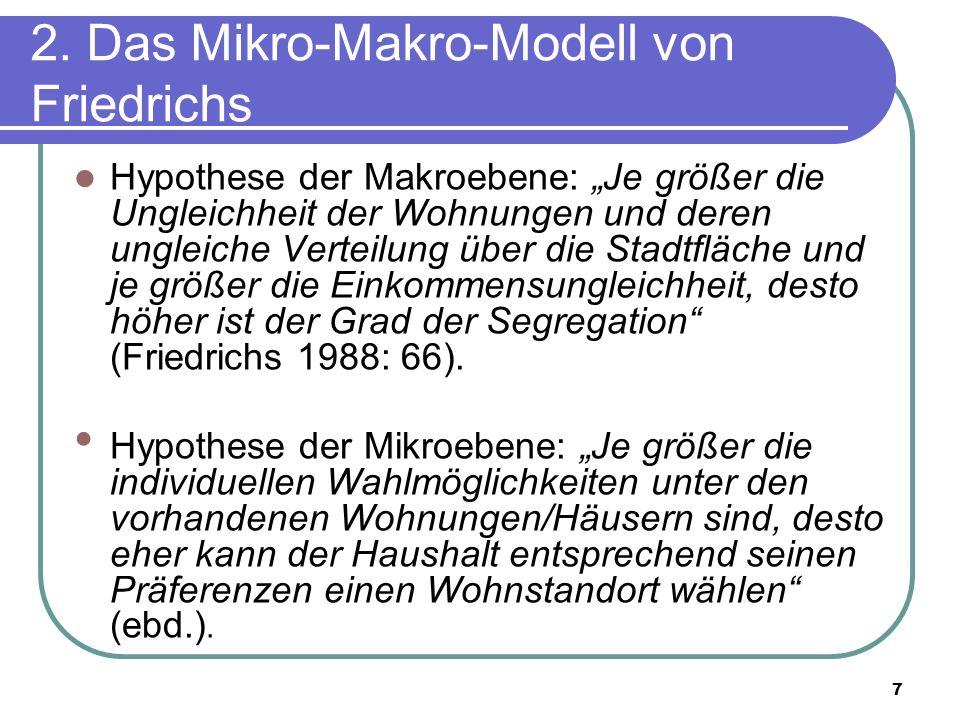 2. Das Mikro-Makro-Modell von Friedrichs