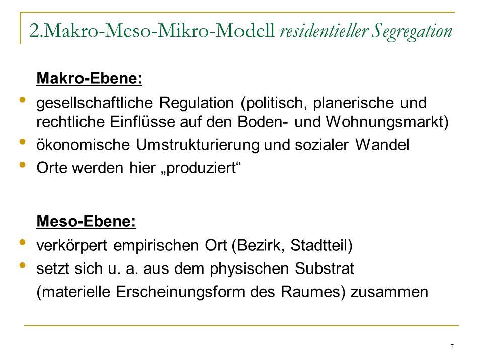 2.Makro-Meso-Mikro-Modell residentieller Segregation