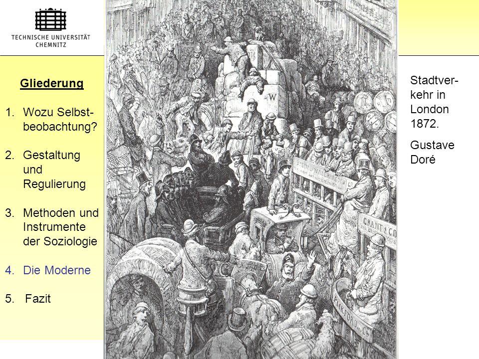 Gliederung Gliederung Stadtver-kehr in London 1872.