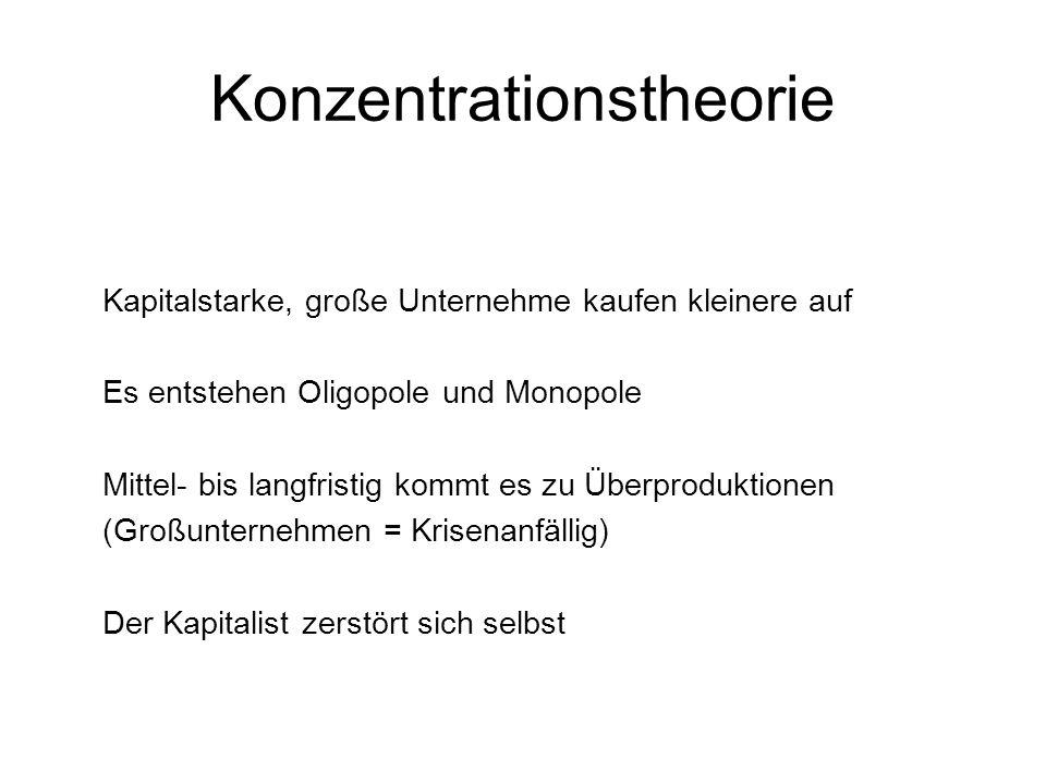 Konzentrationstheorie