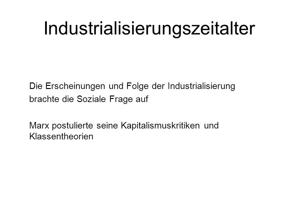 Industrialisierungszeitalter