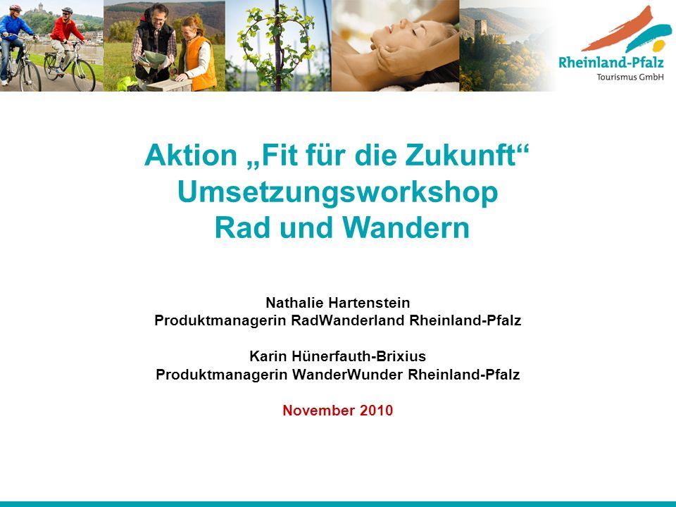 """Aktion """"Fit für die Zukunft Umsetzungsworkshop Rad und Wandern"""