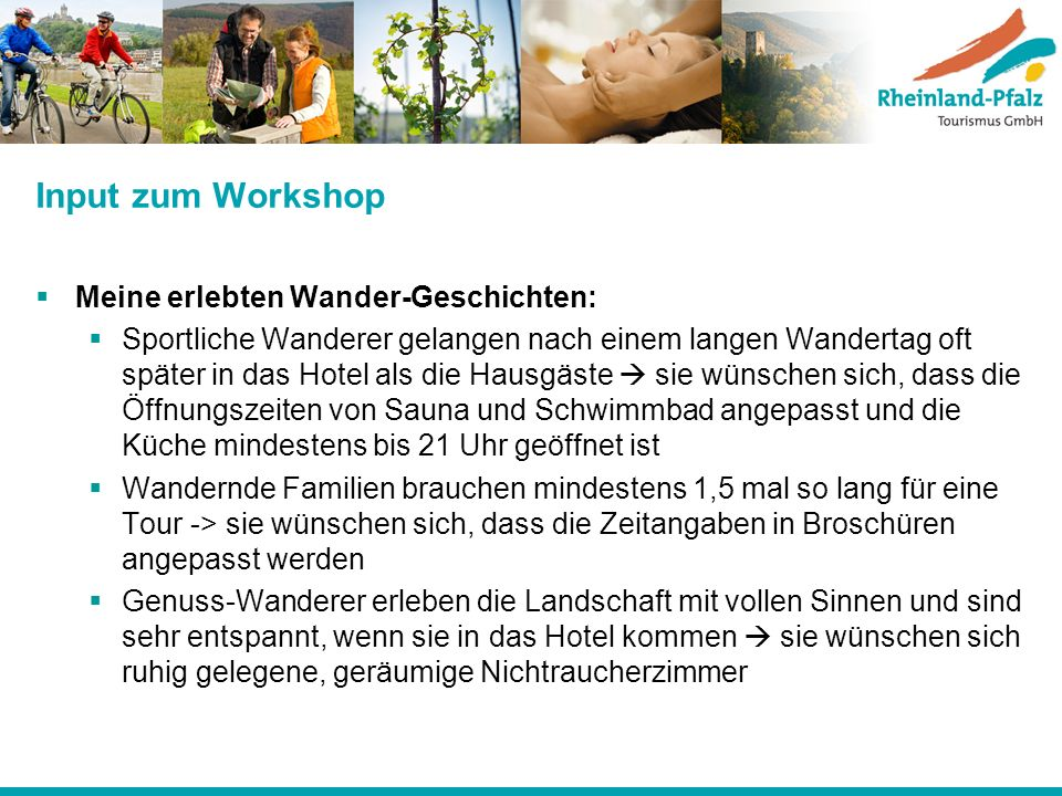 Input zum Workshop Meine erlebten Wander-Geschichten: