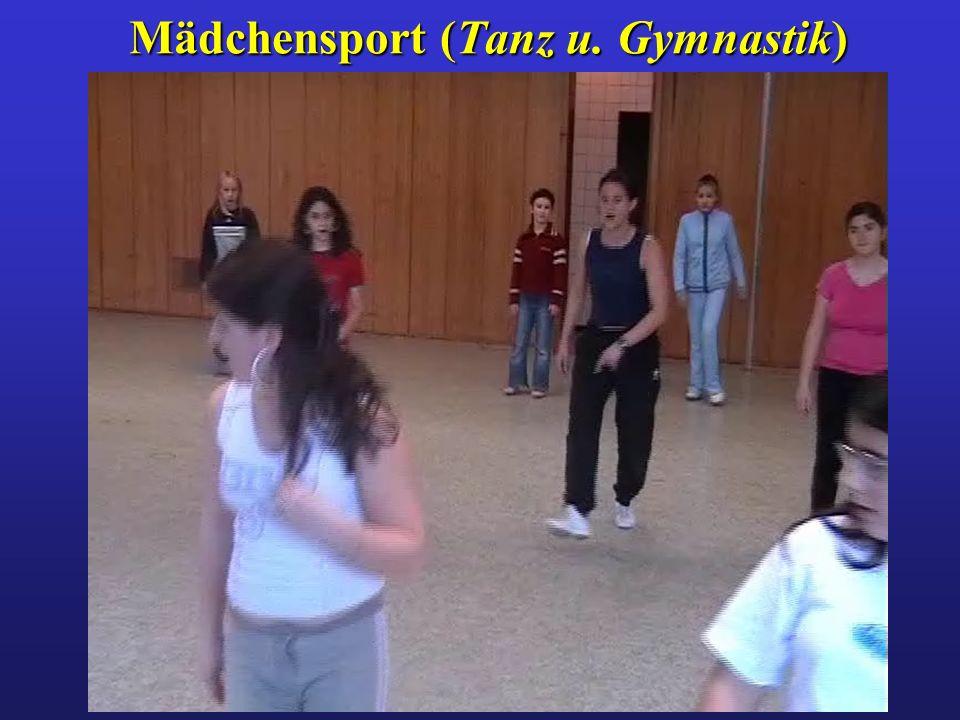 Mädchensport (Tanz u. Gymnastik)