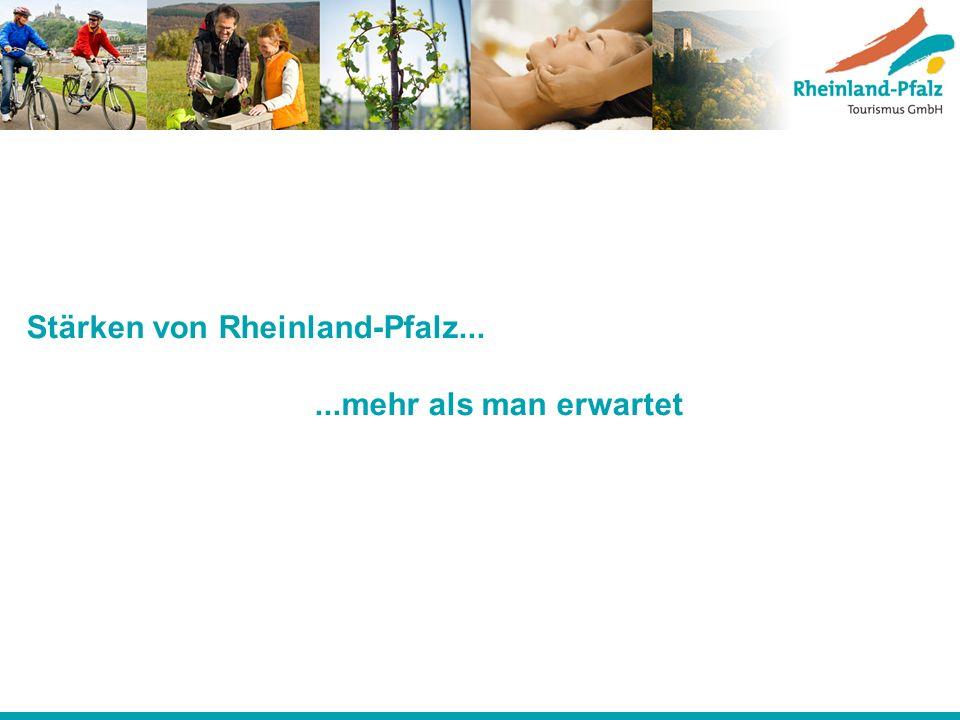 Stärken von Rheinland-Pfalz... ...mehr als man erwartet