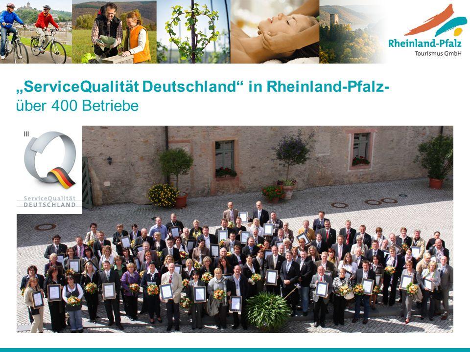 """""""ServiceQualität Deutschland in Rheinland-Pfalz- über 400 Betriebe"""