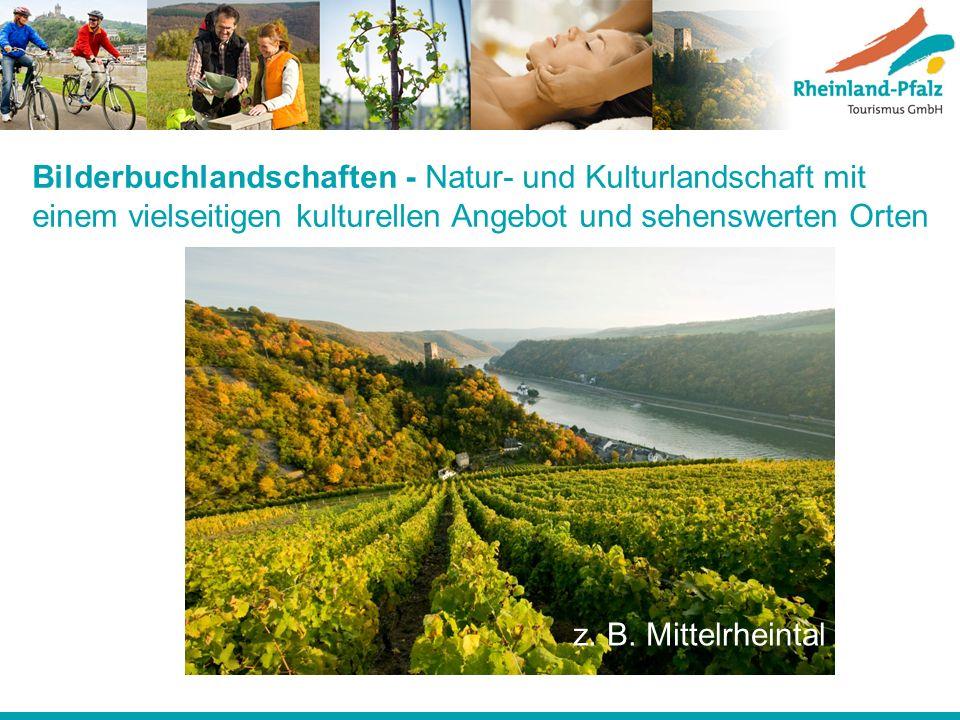 Bilderbuchlandschaften - Natur- und Kulturlandschaft mit einem vielseitigen kulturellen Angebot und sehenswerten Orten