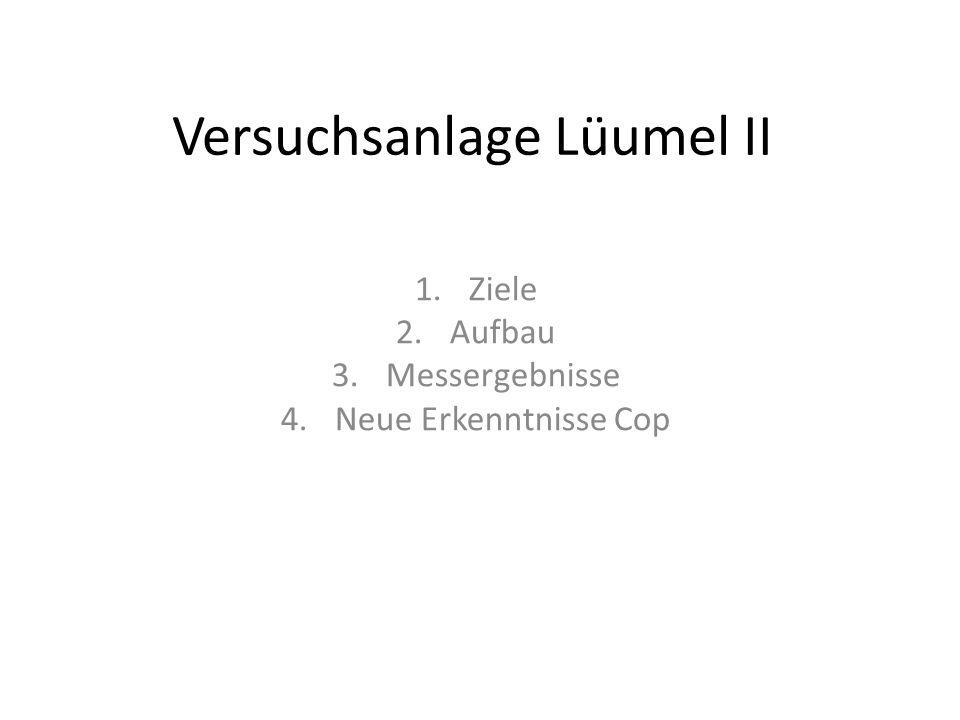 Versuchsanlage Lüumel II