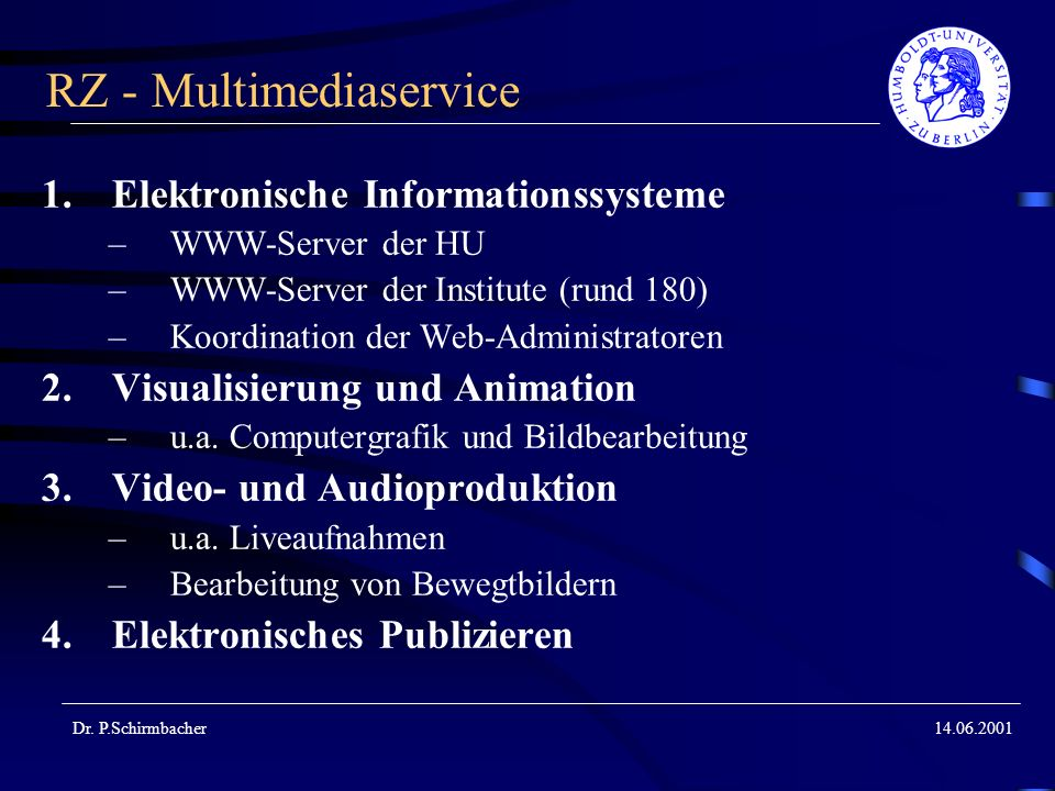 RZ - Multimediaservice
