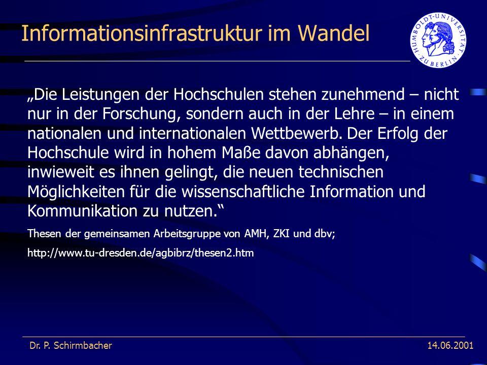 Informationsinfrastruktur im Wandel