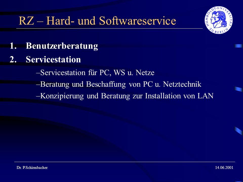 RZ – Hard- und Softwareservice