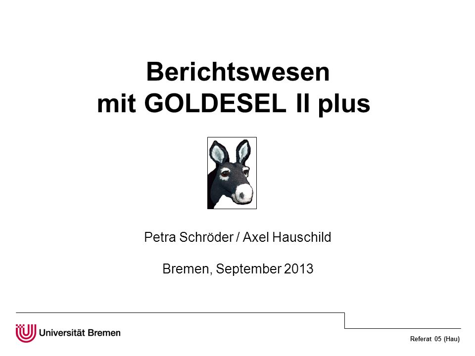 Petra Schröder / Axel Hauschild