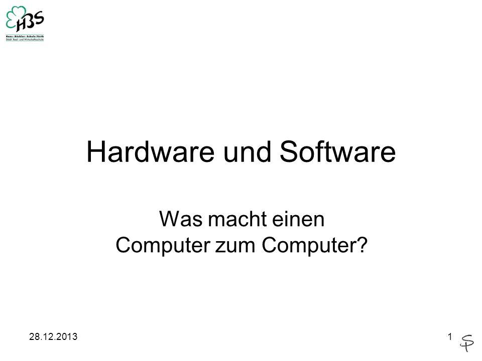 Was macht einen Computer zum Computer