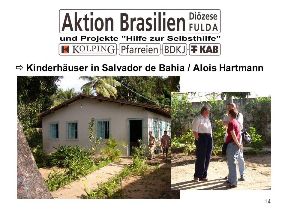 Kinderhäuser in Salvador de Bahia / Alois Hartmann