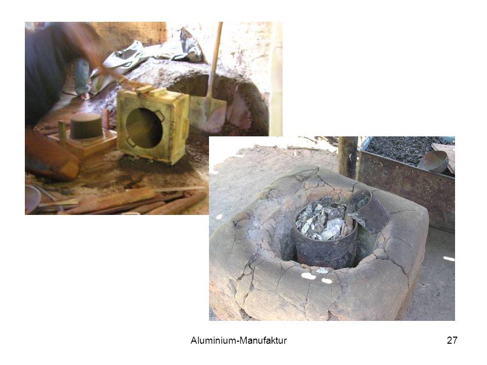 Aluminium-Manufaktur