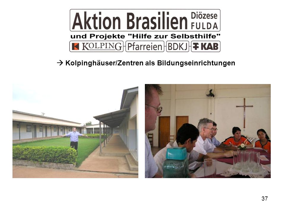  Kolpinghäuser/Zentren als Bildungseinrichtungen