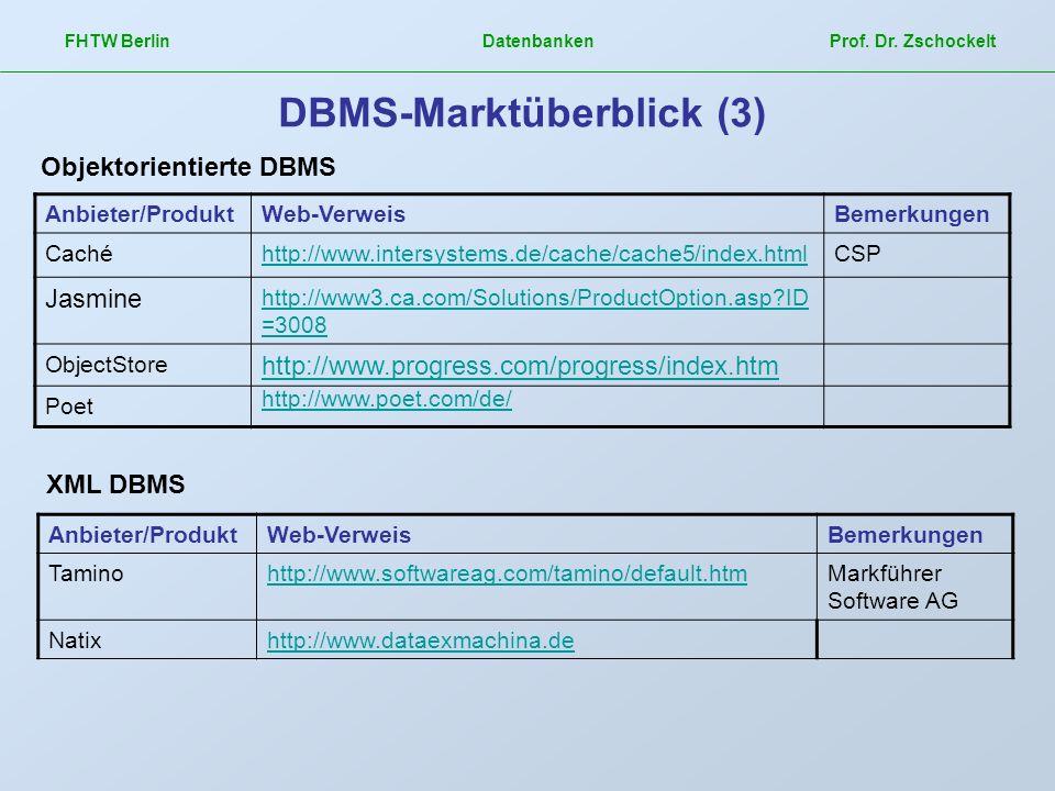 DBMS-Marktüberblick (3)