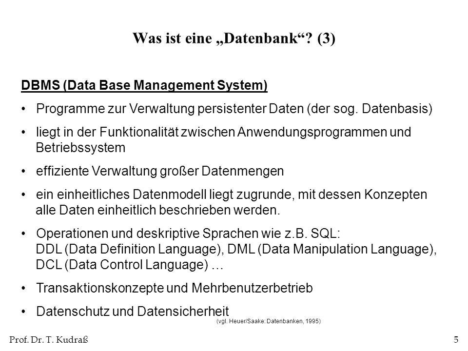 """Was ist eine """"Datenbank (3)"""