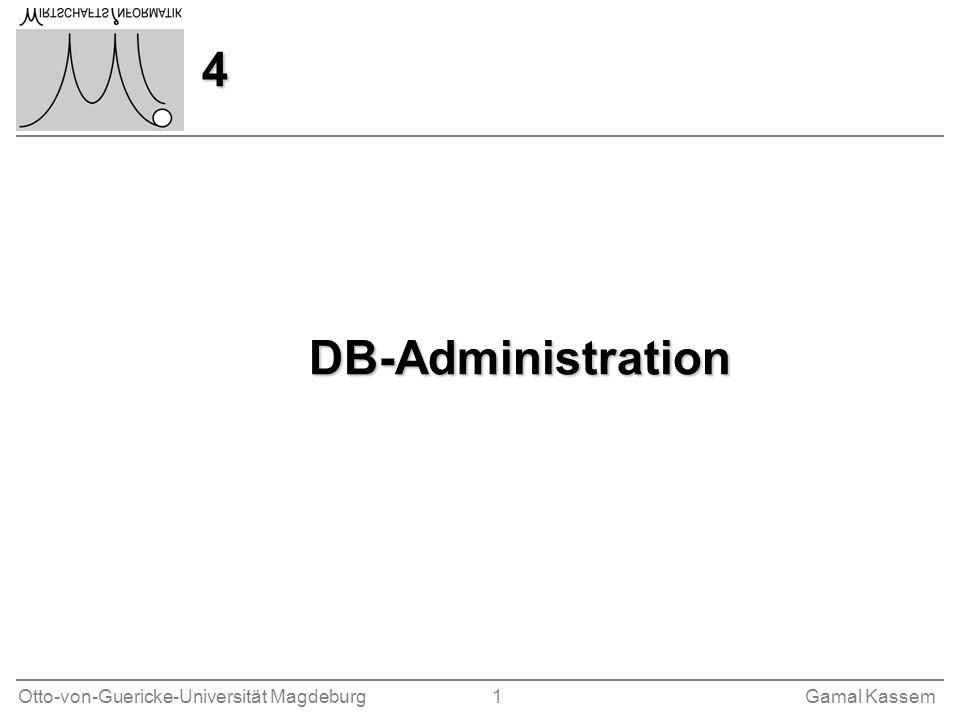4 DB-Administration
