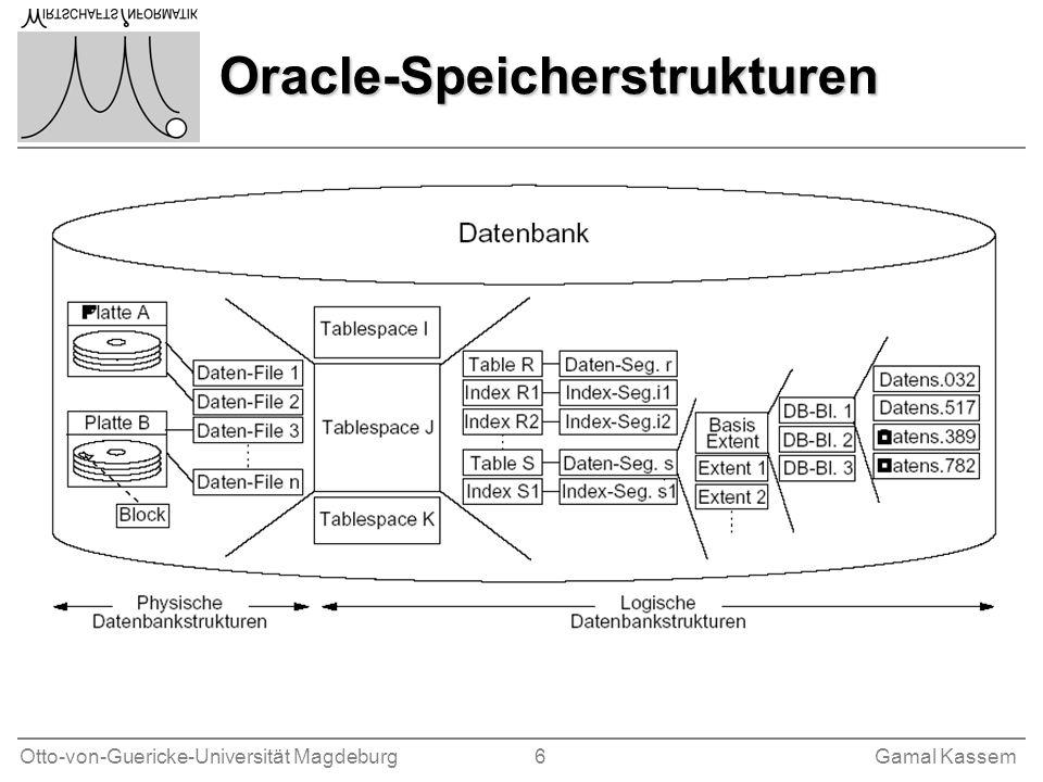 Oracle-Speicherstrukturen