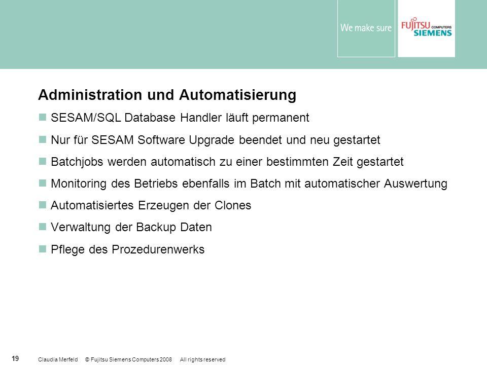 Administration und Automatisierung