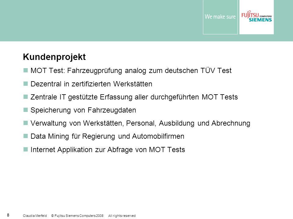 Kundenprojekt MOT Test: Fahrzeugprüfung analog zum deutschen TÜV Test
