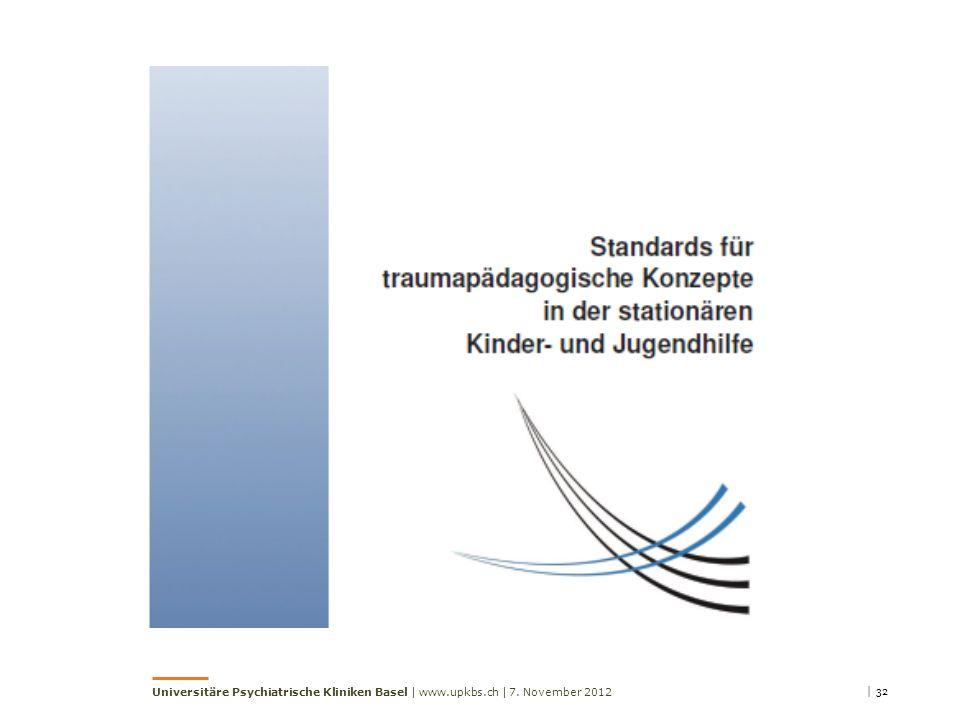 Universitäre Psychiatrische Kliniken Basel | www.upkbs.ch |
