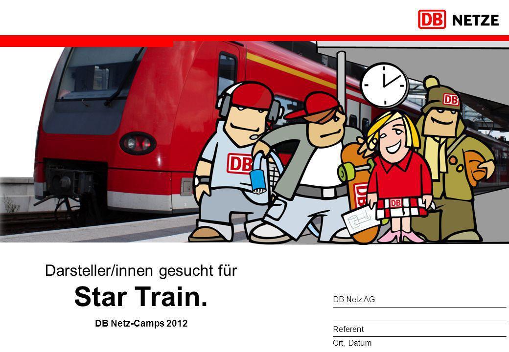 Darsteller/innen gesucht für Star Train.