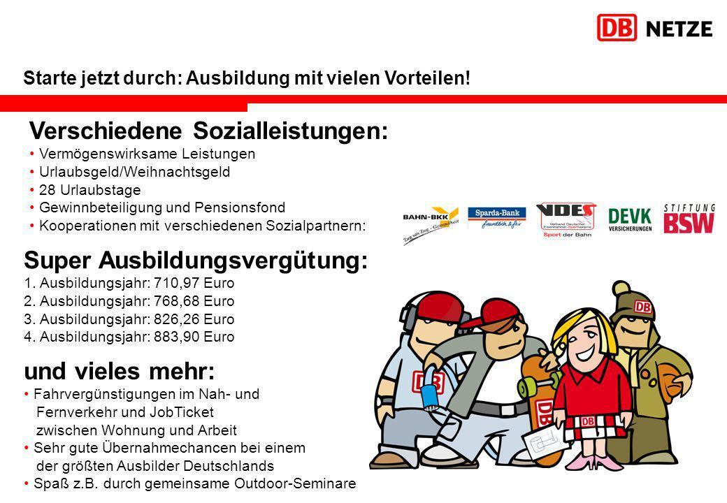 Verschiedene Sozialleistungen: