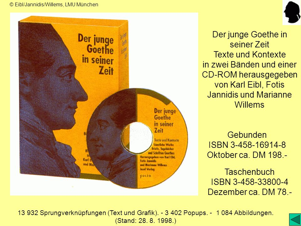Der junge Goethe in seiner Zeit Texte und Kontexte