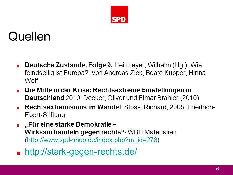 Quellen http://stark-gegen-rechts.de/