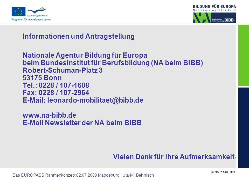 Informationen und Antragstellung
